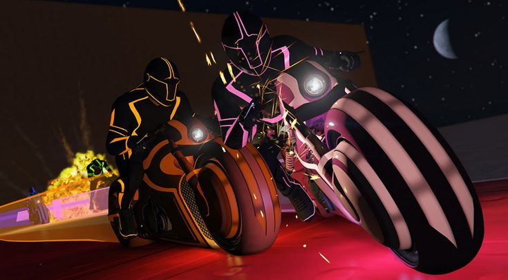 """Get On GTA Online's Grid With The Latest """"Tron"""" Spoof DLC"""