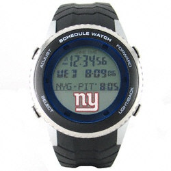 New York Giants Schedule Watch $109.99 http://www.fansedge.com/New-York-Giants-Schedule-Watch-_-173651939_PD.html?social=pinterest_pfid51-29085