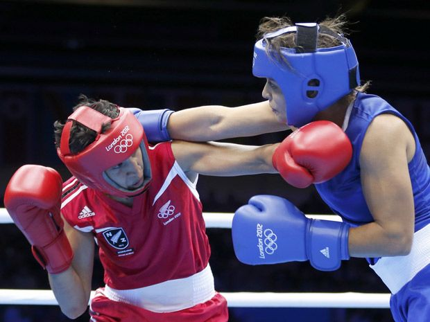 2012 Women's Olympic Boxing Quarterfinals!