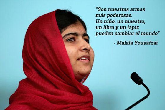Malala Yousafzai se ha convertido en un símbolo en Pakistán y en todo el mundo de la lucha por los derechos de niñas y mujeres.
