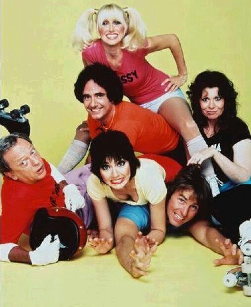Three's Company ~ Starring John Ritter, Joyce De Witt, Suzanne Somers, Richard Kline, Norman Fell, Ann Wedgeworth (Audra Lindley), Priscilla Barnes & Jenilee Harrison -not pictured