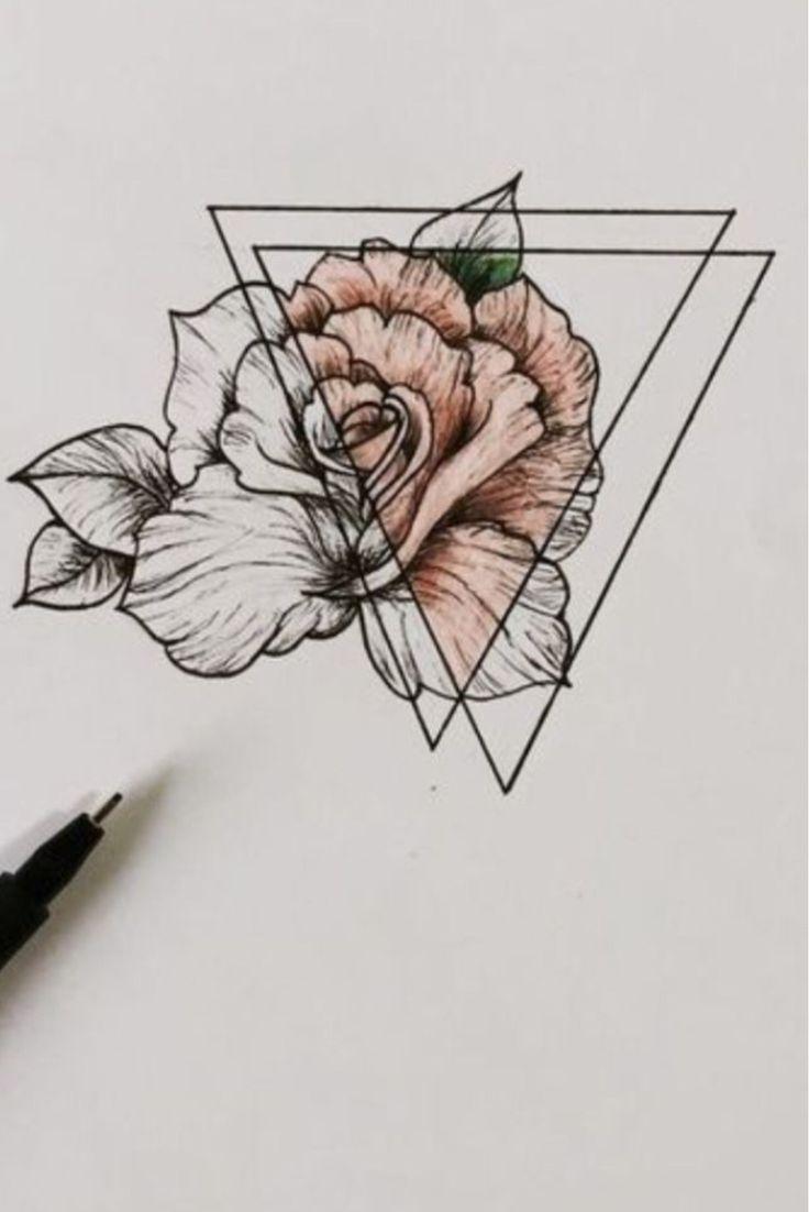 Идеи для рисунков|цветы|минимализм|#втихøмø…