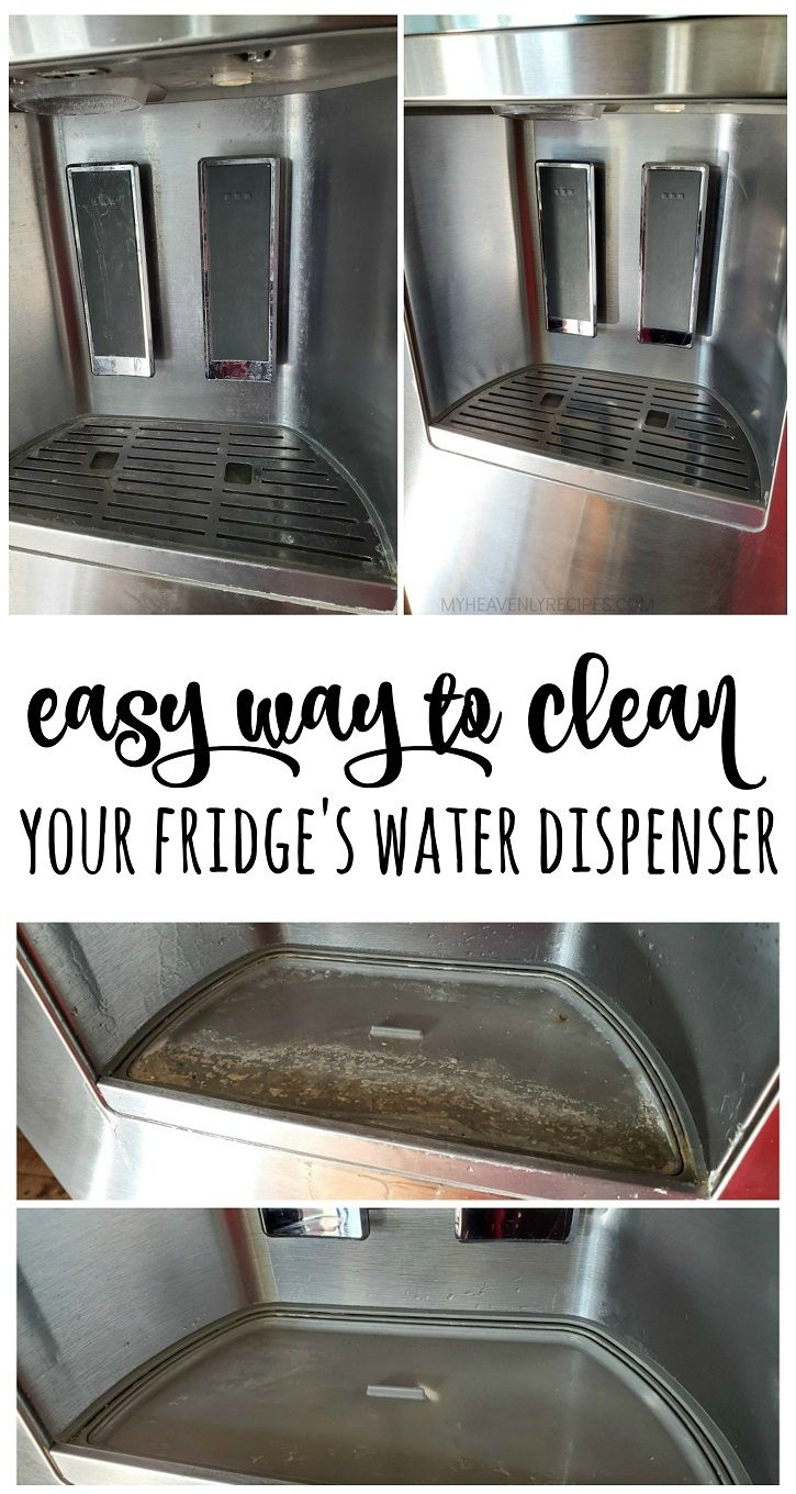 How To Clean Your Fridge S Water Dispenser Clean Fridge Water Dispenser Clean Water Dispenser