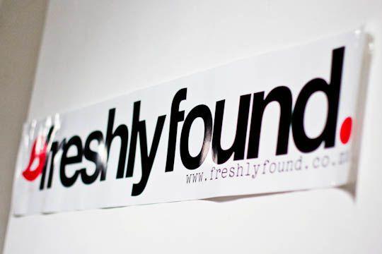 Freshly Found