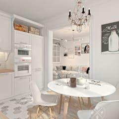 Projekty,  Kuchnia zaprojektowane przez Мастерская дизайна Welcome Studio