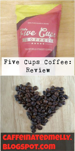 Honest Coffee Review // Swiss Water Decaf// Five Cups Coffee // Caffeinated Melly