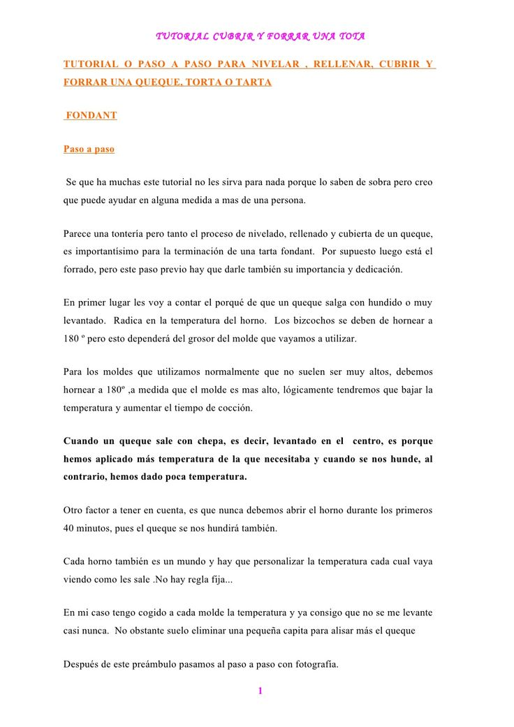tutorial-para-cubrir-y-forrar-tortas by etengel via Slideshare