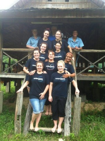 Tales from Antipodeans Abroad: Murdoch University students set up health clinics in rural Laos