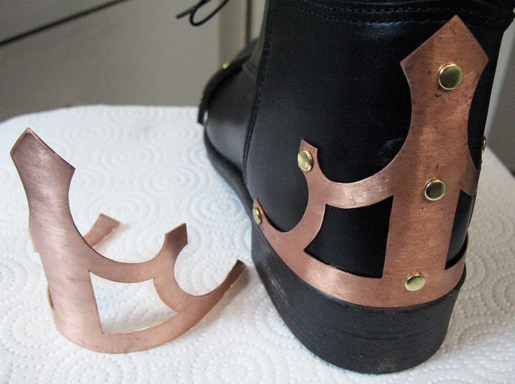 How to make your own steampunk boots.