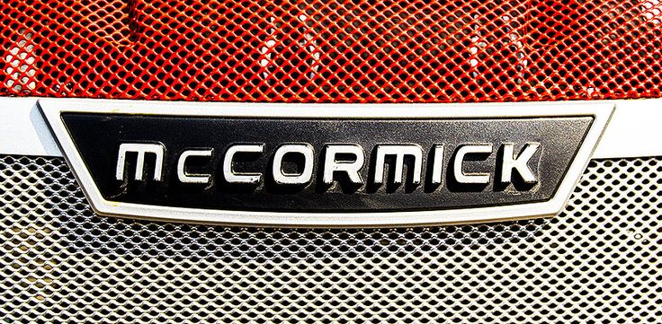 McCormick Tractor Grill