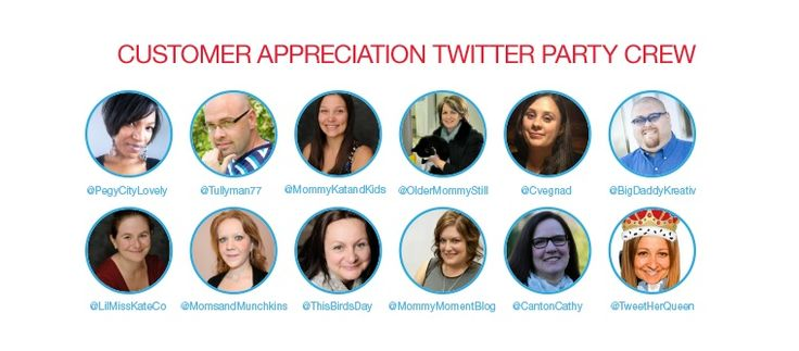 Twitter Party Over $3000 in prizing (Customer Appreciation Twitter Party Crew)