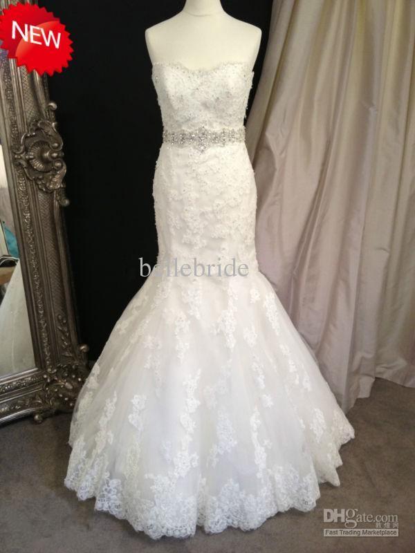 43 best Wedding Dresses images on Pinterest | Wedding frocks ...