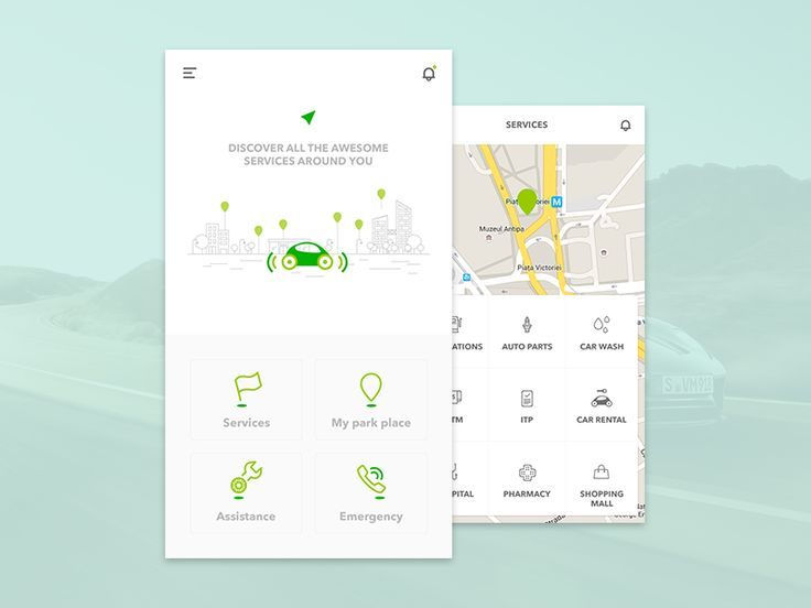 An app for drivers by Ayhan Bari