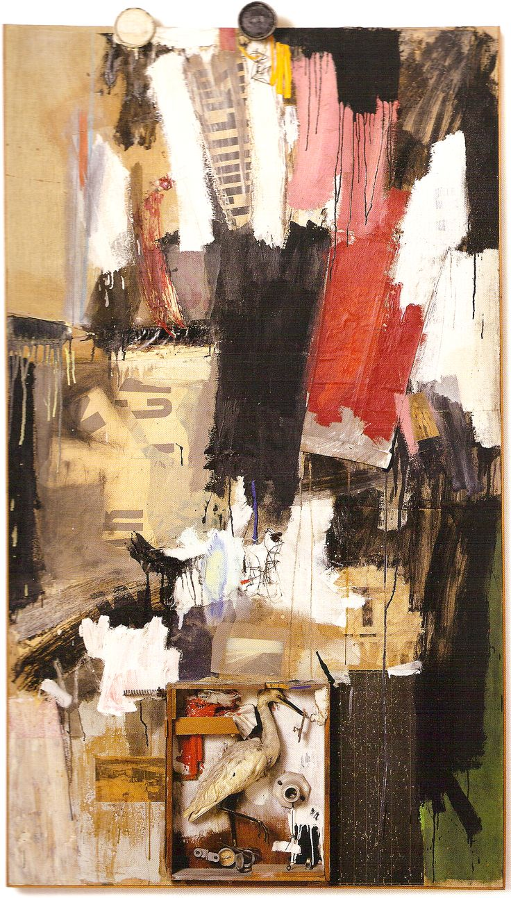 essay on robert rauschenberg Robert rauschenberg's 'combines' - masterpieces of the new sensibility - between abstract expressionism and pop art - sonja longolius - term paper (advanced seminar) - english language and.
