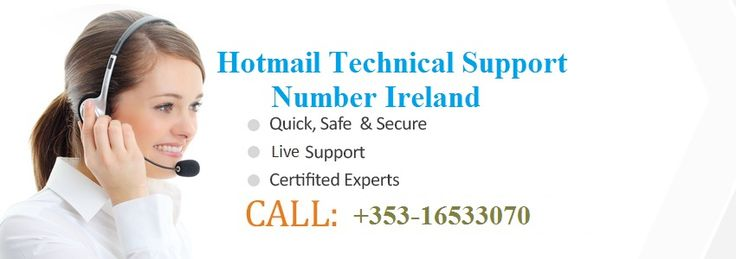 If you are the user of Microsoft Hotmail and facing any kind of problem related to Hotmail then you don't need to worry anymore because we are providing the best Technical support for Hotmail. We have the best tech support team in which every technician is highly educated. So to get the best and instant solution just give a call at Hotmail Customer support number Ireland: +353-16533070. We are always available for your help 24/7.