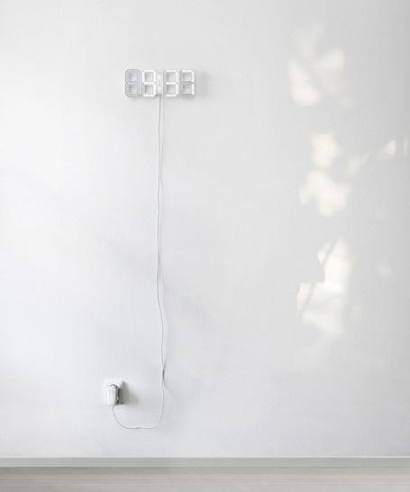 led clock.