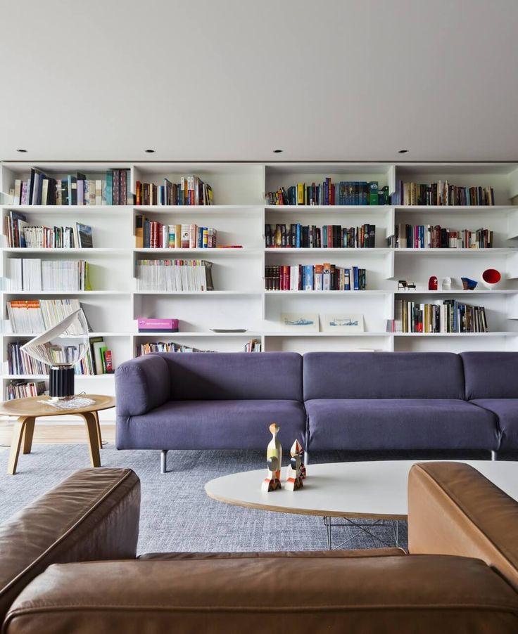 Gravata Apartment by Marcelo Couto - bookcase