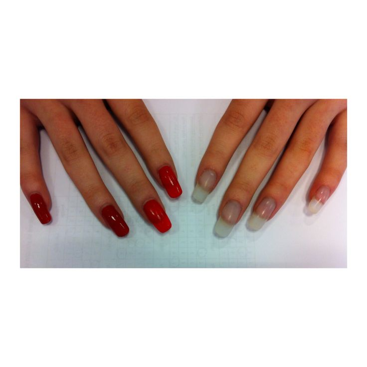 Competition style nails- acrylics