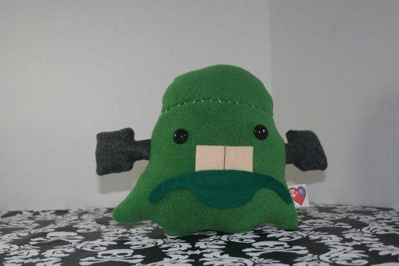 The Ghost of Frankenstein Designer Plush Toy- part of the Z+Ghost line from Santos Demonios Art Toys