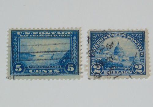 Stamp Pickers USA US Key Values Scott #399 #572 FU $19