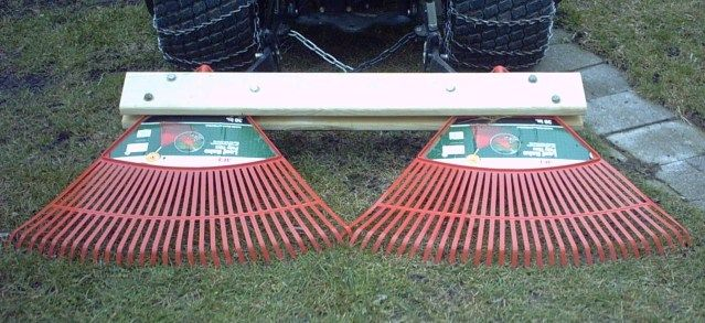 Homemade Tractor Rake Mytractorforum Com The