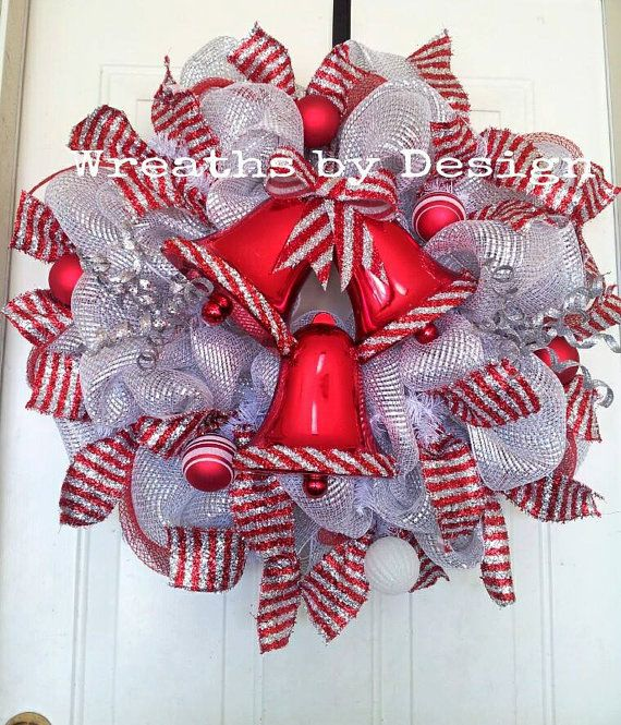 Silver Bells Christmas Decorations Simple 56 Best Christmas Bells Images On Pinterest  Christmas Bells Decorating Inspiration