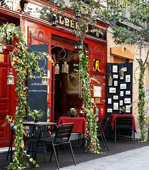 Casa Alberto. Barrio de las Letras, Madrid.