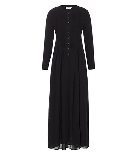 Black Georgette Abaya - £49.99 : Inayah, Islamic Clothing & Fashion, Abayas, Jilbabs, Hijabs, Jalabiyas & Hijab Pins