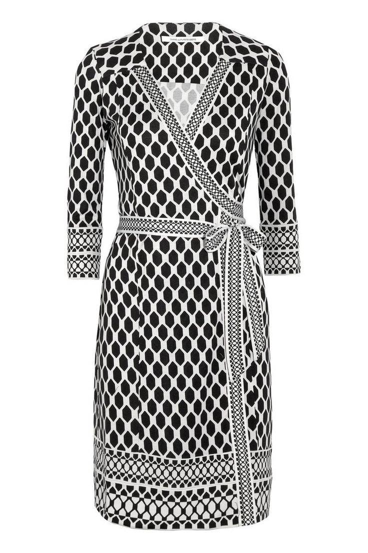 Always Shopping: The Perfect Printed Wrap Dress. DVF Tallulah Silk-Jersey Wrap Dress