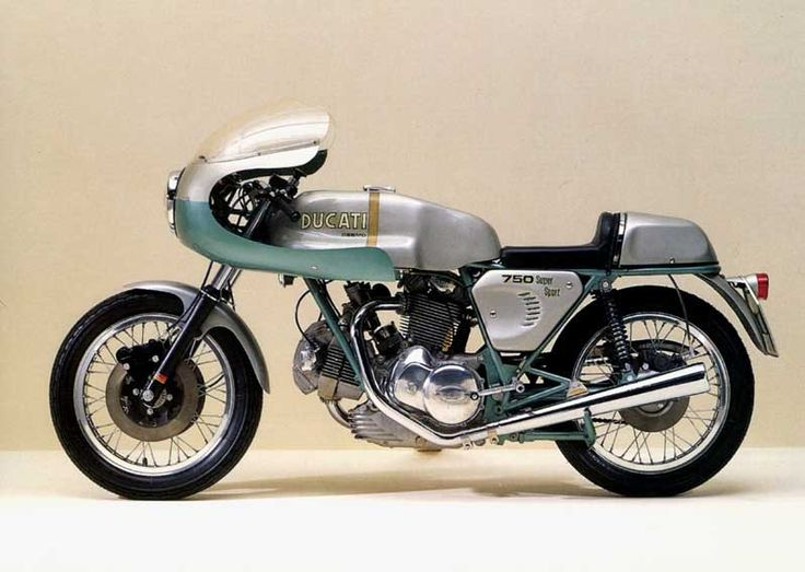 """1974 - 750 """"Greenframe"""" Ducati Super Sport....in all original condition with extremely low mileage, they can fetch $200,000.00...WOW!"""