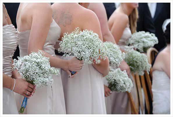 pretty gypsophila bouquets