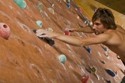 definitely need to work on my grip and finger strength for rock climbing