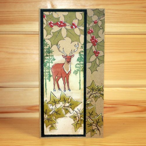 Christmas has arrived at Hobby Art! CS138D 'Nature Trail' A5 Clear set c… – Hobby Art stamps