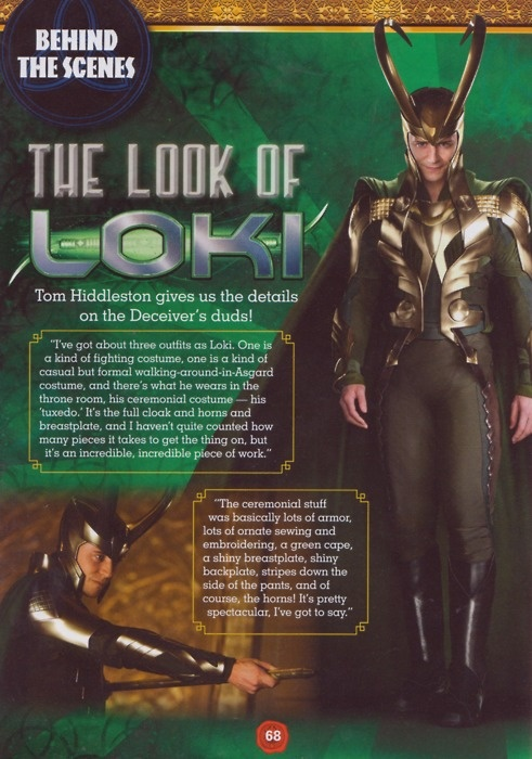 "Oh No They Didn't! - 3 new pics from ""The Avengers"" + Hiddles about Loki"