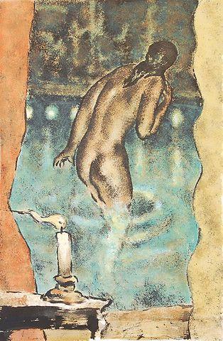 Svein Bolling <em>Lys</em><br />litografi, 55x35 cm
