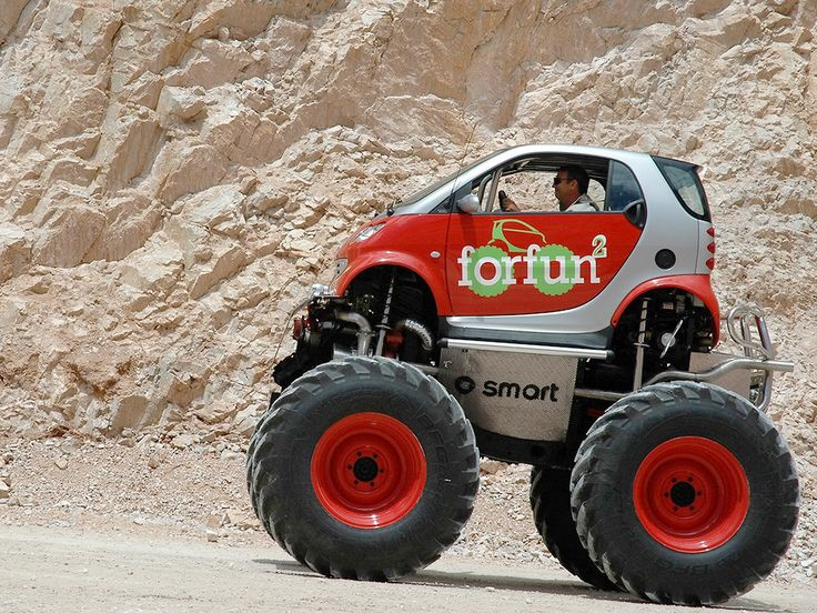Smart Car mod.: Sports Cars, Guys Stuff, Muscle Cars, Funny, Cars Riding, Smart Cars, Little Monsters, Smartcar, Monsters Trucks