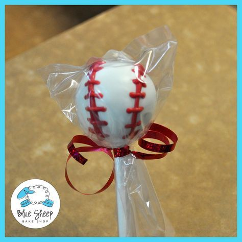 36 Baseball Cake Pop Favors