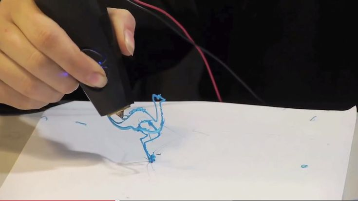 Magické 3D pero. Nová technologie v kreslení