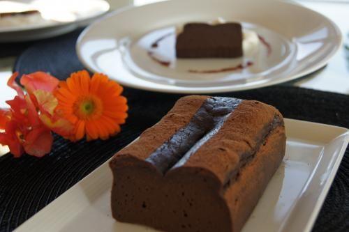 とろける『チョコレートテリーヌ』 - 簡単!アメリカンビューティフルなおもてなし