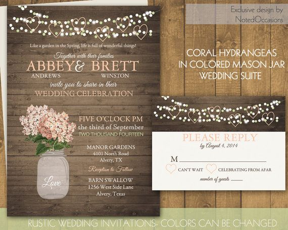 117 best save the date & invites images on pinterest, Wedding invitations