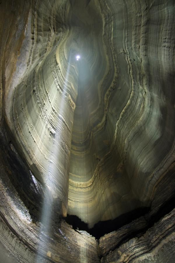 Fantastic Pit at Ellison's Cave, Georgia