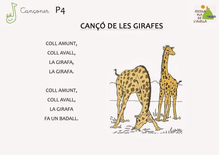 Música: La girafa- P4