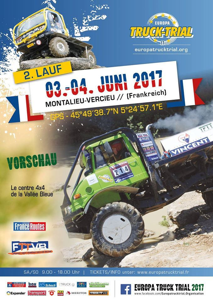 https://flic.kr/p/TPgptV | EUROPA TRUCK TRIAL 2017 | WWW.EUROPATRUCKTRIAL.ORG Truck Trial is a motor sport where it comes to driving trucks or German truck in difficult terrain. You have to maneuver his truck through the previously inserted by the organizers gates with a lot of skill and ability. These goals are not easily accessible, so that it is done to the drivers and their passengers not easy. In the sections that are driven, man and machine are pushed to their limits. The rating takes…