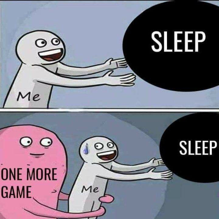There was a great winter Steam sale, and I got steam cards for Christmas... Sleep can wait 🤓
