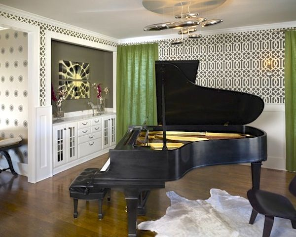 198 best images about pianos on pinterest traditional for Piano for small space