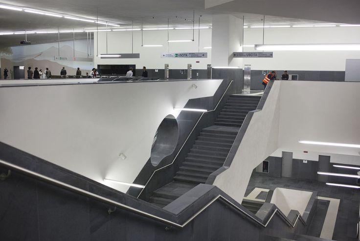 Inaugurata la stazione Municipio della Linea 1 di Napoli | © Machi di Pace - Campaniasuweb