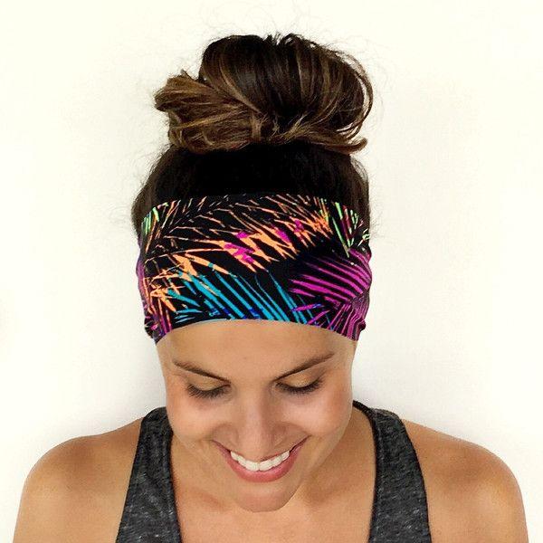 Yoga Headband Workout Headband Fitness Headband Running Headband... ($7) ❤ liked on Polyvore featuring accessories, hair accessories, grey, headbands & turbans, headband turban, yoga headbands, bohemian hair accessories, sport headbands and head wrap hair accessories