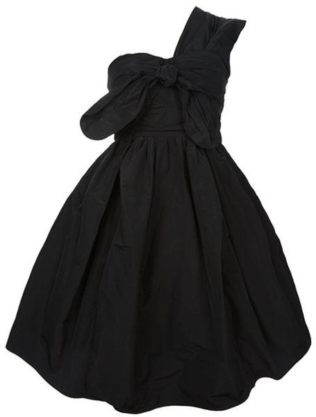 Puff One Shoulder Dress