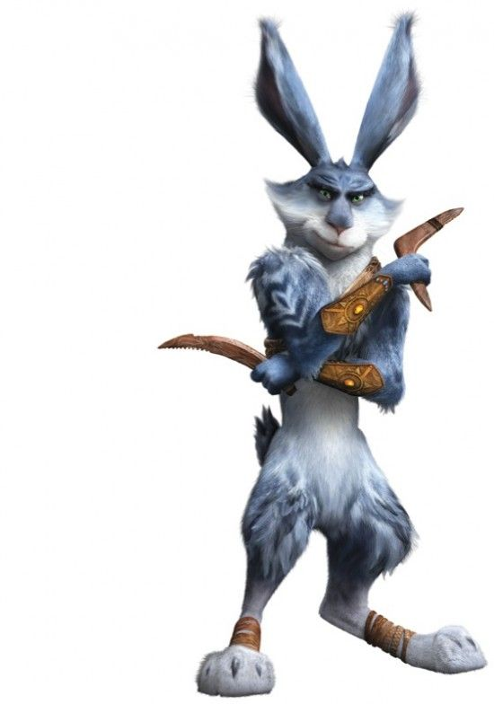 Dreamworks: 'Rise of the Guardians' - Easter Bunny (voice of Hugh Jackman)