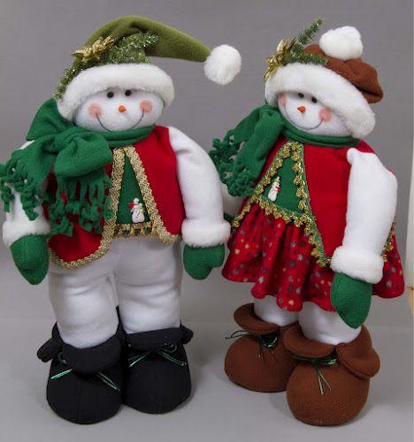 Bonhommes de neige coudre beauté. Discussion sur LiveInternet - russes service Diaries en ligne